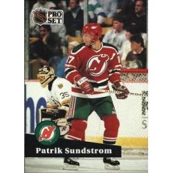 1991-92 Pro Set French c. 141 Patrik Sundstrom NJD