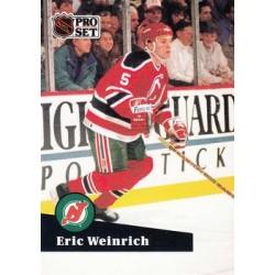 1991-92 Pro Set French c. 133 Eric Weinrich NJD