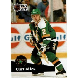 1991-92 Pro Set French c. 114 Curt Giles MNS