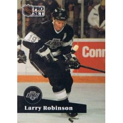 1991-92 Pro Set French c. 104 Larry Robinson LAK