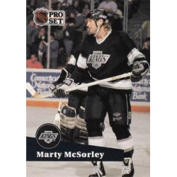 1991-92 Pro Set French c. 100 Marty McSorley LAK
