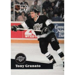 1991-92 Pro Set French c. 098 Tony Granato LAK