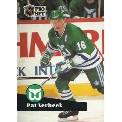 1991-92 Pro Set French c. 086 Pat Verbeek HFD