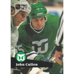 1991-92 Pro Set French c. 085 John Cullen HFD