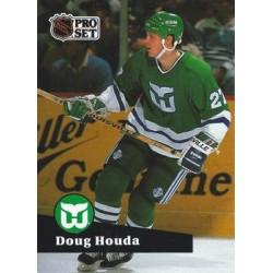 1991-92 Pro Set French c. 081 Doug Houda HFD