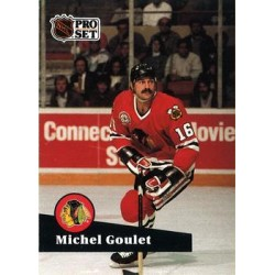 1991-92 Pro Set French c. 050 Michel Goulet CHI