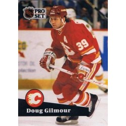 1991-92 Pro Set French c. 034 Doug Gilmour CGY