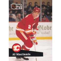 1991-92 Pro Set French c. 033 Al MacInnis CGY