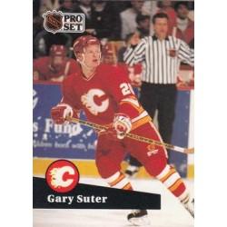 1991-92 Pro Set French c. 032 Gary Suter CGY