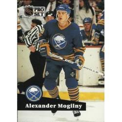 1991-92 Pro Set French c. 016 Alexander Mogilny BUF