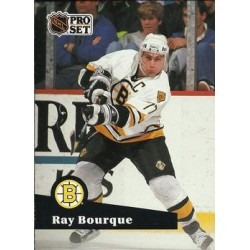 1991-92 Pro Set French c. 009 Ray Bourque BOS