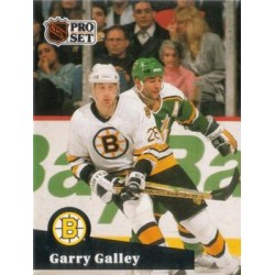 1991-92 Pro Set French c. 007 Garry Galley BOS