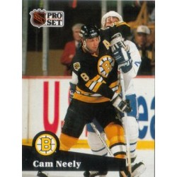 1991-92 Pro Set French c. 005 Cam Neely BOS