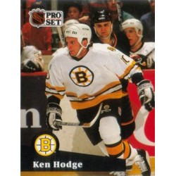1991-92 Pro Set French c. 003 Ken Hodge BOS