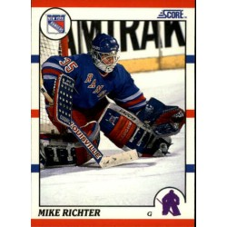 1990-91 Score American c. 074 Mike Richter