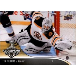 2011-12 Stanley Cup Champions c. 02 Tim Thomas BOS