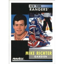 1991-92 Pinnacle Canadian c. 164 Mike Richter