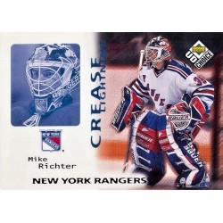 1998-99 UD Choice Crease Lightning c. 246 Mike Richter