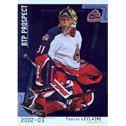 2002-03 Between the Pipes c. 108 Pascal Leclaire RC CBS