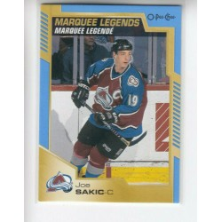 2020-21 O-Pee-Chee Marquee Legends Blue Border c. 532 Peter Forsberg COL