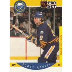 1990-91 Pro Set c. 018 Scott Arniel COR: Photo on back is Scott Arniel BUF