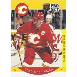 1990-91 Pro Set c. 039 Brad McCrimmon COR: Number 4 on front CGY