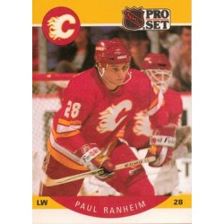 1990-91 Pro Set c. 044 Paul Ranheim CGY