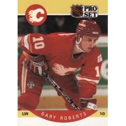 1990-91 Pro Set c. 045 Gary Roberts CGY