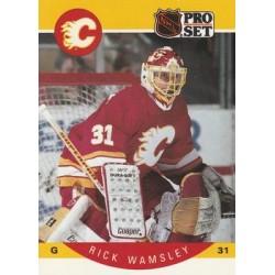 1990-91 Pro Set c. 048 Rick Wamsley CGY