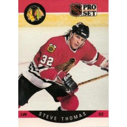 1990-91 Pro Set c. 062 Steve Thomas CHI