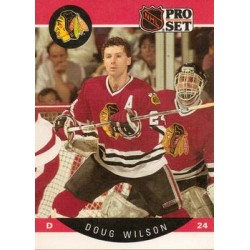 1990-91 Pro Set c. 063 Doug Wilson CHI