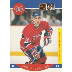 1990-91 Pro Set c. 147 Chris Chelios MON