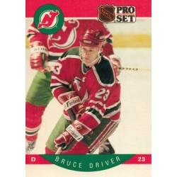 1990-91 Pro Set c. 166 Bruce Driver NJD