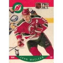 1990-91 Pro Set c. 170 John MacLean NJD