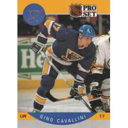 1990-91 Pro Set c. 261 Gino Cavallini STL