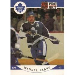 1990-91 Pro Set c. 276 Wendel Clark TOR