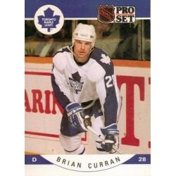1990-91 Pro Set c. 277 Brian Curran TOR