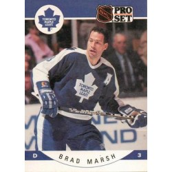 1990-91 Pro Set c. 285 Brad Marsh TOR