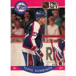 1990-91 Pro Set c. 334 Teppo Numminen WIN