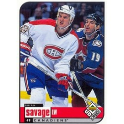 1998-99 UD Choice Preview c. 111 Savage Brian  MON