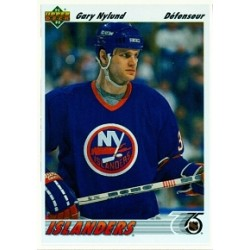 1991-92 Upper Deck French c. 406 Nylund Gary NYI