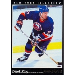 1993-94 Pinnacle Canadian c. 128 King Derek NYI
