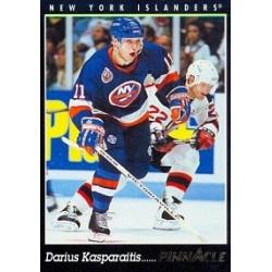 1993-94 Pinnacle Canadian c. 084 Kasparaitis Darius NYI