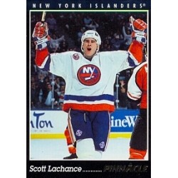 1993-94 Pinnacle Canadian c. 062 Lachance Scott NYI