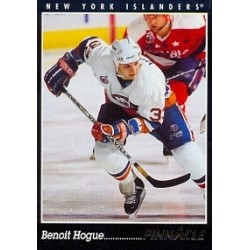 1993-94 Pinnacle Canadian c. 018 Hogue Benoit NYI