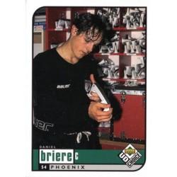 1998-99 UD Choice c. 163 Daniel Briere PHX