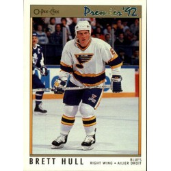1991-92 O-Pee-Chee Premier c. 049 Brett Hull STL
