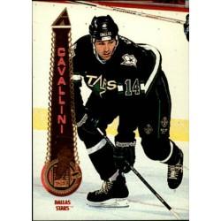 1994-95 Pinnacle c. 081 Paul Cavallini DAL