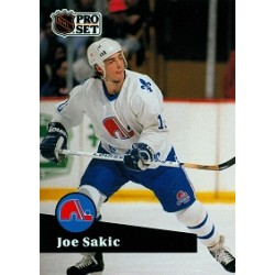 1991-92 Pro Set French c. 199 Sakic Joe QUE