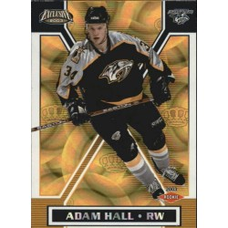 2002-03 Exclusive Rookie Gold c. 182 Adam Hall NAS